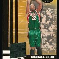 MICHAEL RED 2007-08 BOWMAN ELEVATION RELICS JERSEY 136/179 *MILWAUKEE BUCKS*