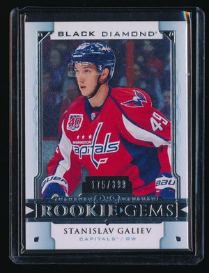 STANISLAV GALIEV 2015-16 BLACK DIAMOND ROOKIE GEMS 175/399 WASHINGTON CAPITALS
