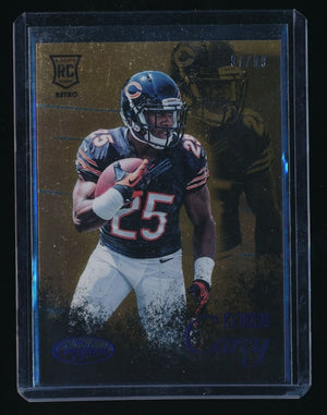 KA'DEEM CAREY 2014 CERTIFIED ROOKIE RETRO BLUE 97/99 CHICAGO BEARS