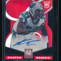 KONY EALY 2014 ELITE STATUS RED RC AUTO 05/49 *CAROLINA PANTHERS*