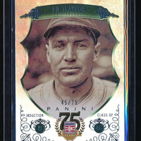 PIE TRAYNOR 2014 PANINI HALL OF FAME BLUE FRAME 45/75 PITTSBURGH PIRATES