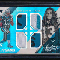 KELVIN BENJAMIN 2014 ABSOLUTE TOOLS OF THE TRADE QUAD RC JERSEY PATCH 09/15
