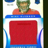 MIKE GLENNON 2013 PANINI CERTIFIED MIRROR BLUE JERSEY RC ROOKIE #D 46/49 *BEARS*