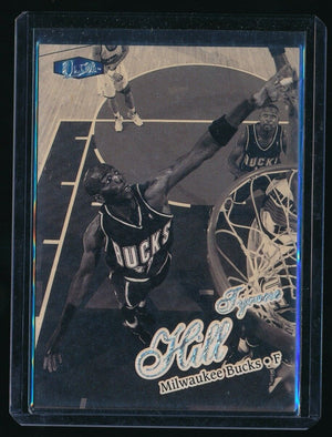 TYRONE HILL 1997-98 ULTRA PLATINUM MEDALLION #160 16/100 *BUCKS*
