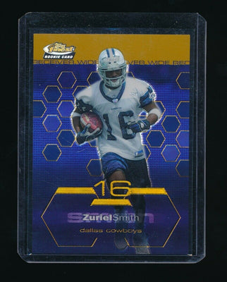 ZURIEL SMITH 2003 FINEST GOLD RC REFRACTOR #99 42/50 *DALLAS COWBOYS*