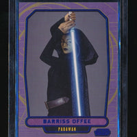 BARRISS OFFEE 2012 STAR WARS GALACTIC FILES BLUE FOIL #60 109/350