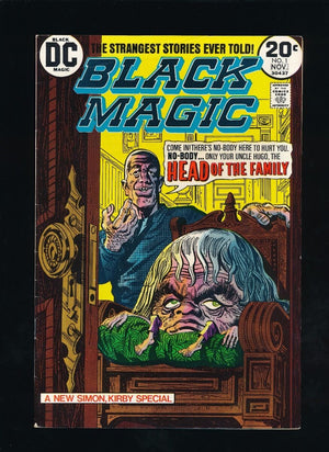 BLACK MAGIC #3 PRIZE PUBLICATIONS 2-3/51 JACK KIRBY COVER ART *UNPRESSED*
