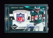 1/1 LESEAN MCCOY 2009 DONRUSS LIMITED NFL LOGO SHIELD PATCH AUTO RC # 1/1 EAGLES