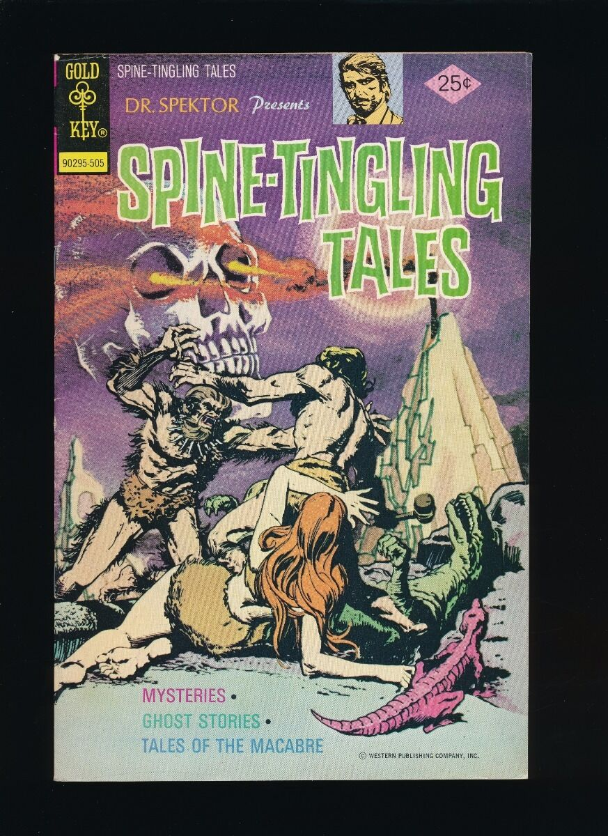 DR. SPEKTOR PRESENTS SPINE-TINGLING TALES ISSUE #1 (MAY 1, 1975) *UNPRESSED*