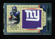 1/1 DAVID WILSON 2012 BOWMAN STERLING SUPERFRACTOR ***NY GIANTS*** LOGO PATCH RC