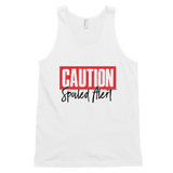 Caution Spoiled Alert Ladies Tank - Meology Apparel