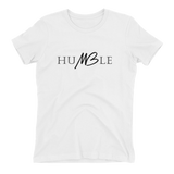 Humble Ladies Tee  - White - Meology Apparel
