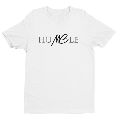 Humble Unisex Tee - White - Meology Apparel