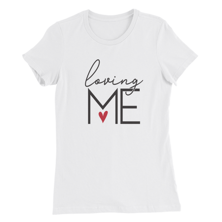 I Am Who I Am Deal With It Ladies Tee
