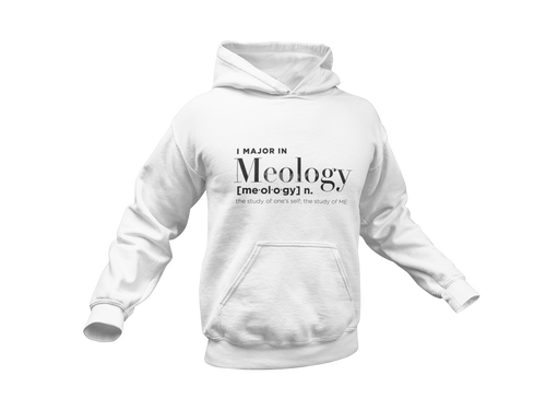I MAJOR IN MEOLOGY - Meology Apparel