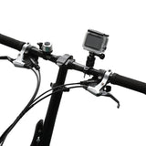 Handlebar Bicycle Mount adapter 360 Degree Rotary Universal Bike Bracket Mount Holder for All GoPro 4, 5, &6 Models/Action Cameras Mountain bike Mount