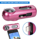 Housing Frame Case for Insta360 ONE Aluminum Alloy Standard Protective Housing Shell Case for Insta360 ONE (Pink)