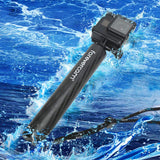 Selfie Stick Tripod Floating Aluminum Waterproof Hand Grip Mount,Camera and Adjustable Wrist Strap for All Types Compatible GoPro Hero 3/4/5/6/7 Fusion Cameras