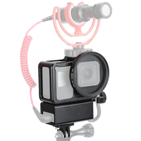 Cage for GoPro 5/6/7 and Microphone Adapter Cage