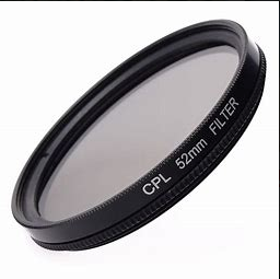 52mm Circular Polarising Filter