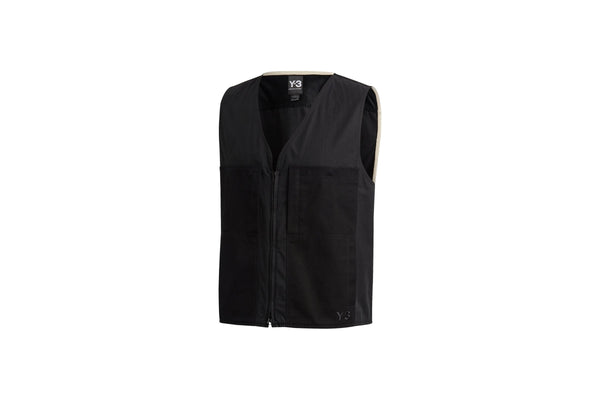 "adidas Originals Y-3 HEAVY POPLIN WORKWEAR VEST ""BLACK"""