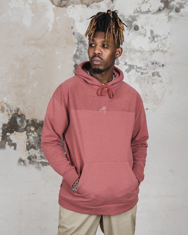 "Afew Goods Made by Culture Hoody ""Marsala"""