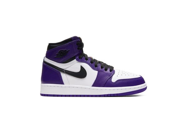 "Air Jordan 1 Retro HIGH OG (GS) ""COURT PURPLE"""