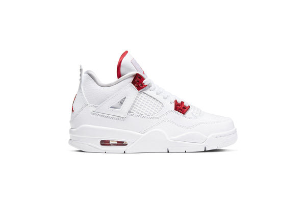 "Air Jordan 4 RETRO (GS) ""METALLIC RED"""