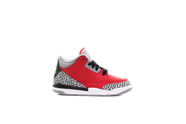 "Air Jordan 3 RETRO SE (PS) ""Fire Red"""