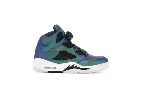 "Air Jordan WMNS 5 RETRO ""Oil Grey"""