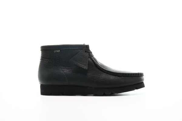 "Clarks Wallabee BT GTX ""Black Leather"""