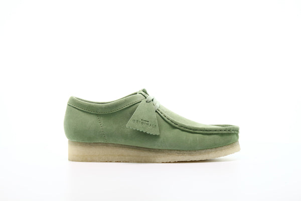 "Clarks Wallabee ""Cactus Green"""