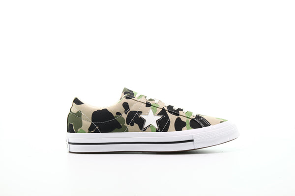 Converse One Star OX Archive Print Duck Camo (165027C)