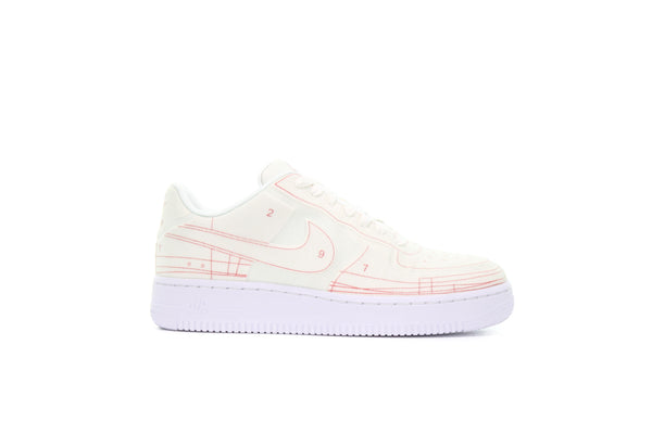 "Nike WMNS AIR FORCE 1 '07 LX ""SCHEMATIC WHITE"""