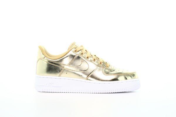 Nike Wmns Air Force 1 SP Metallic Gold