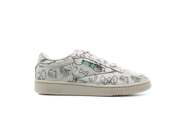 "Reebok x TOM & JERRY CLUB C 85 MU ""Chalk"""