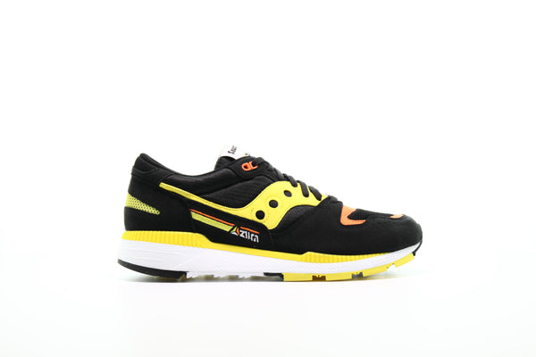 "Saucony Azura ""Black & Yellow"""