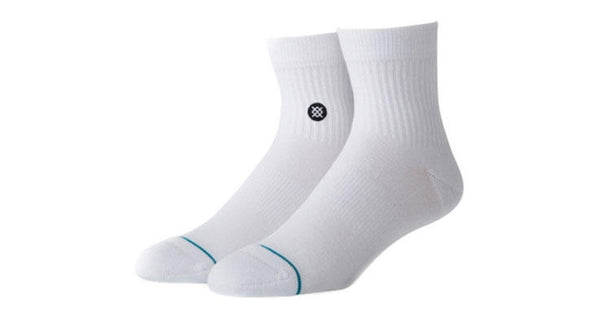 "Stance ICON QTR ""White"""