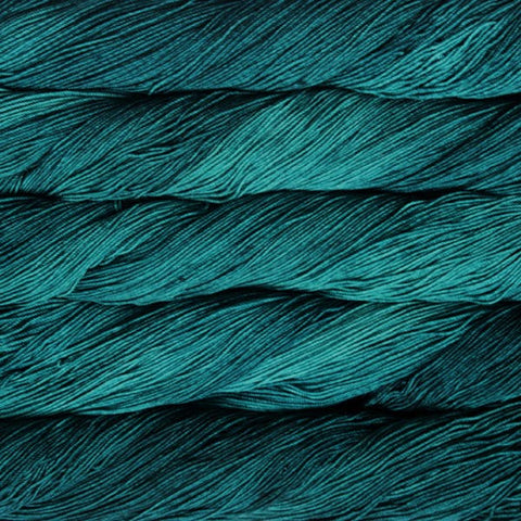 Malabrigo Teal Feather 4ply Sock Yarn 100g