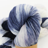 Denim blue on all yarn bases
