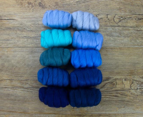 Ocean blues collection merino 250 grams