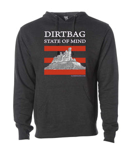Dirtbag State of Mind Men's hoodie black