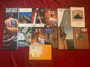 The Climbing Zine 2 Year Subscription plus Zine and Book Bundle
