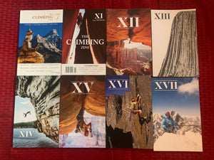 All Issues of The Climbing Zine (in print)