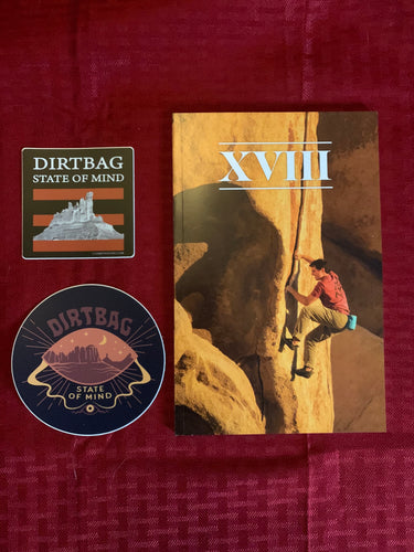 FLASH SALE Dirtbag Stickers and Volume 18