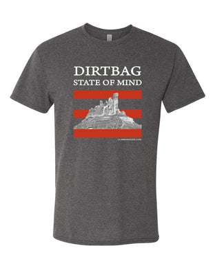 Dirtbag State of Mind t-shirt - Charcoal