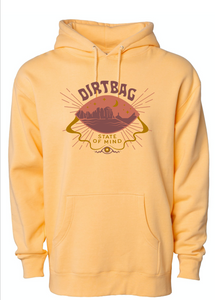 *NEW* Dirtbag State of Mind Men's Hoodie - Desert Peach