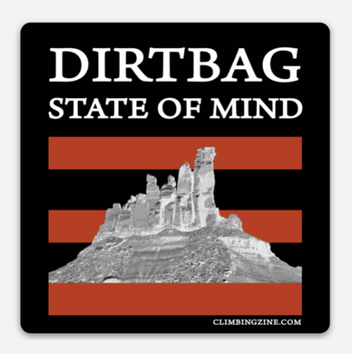 Dirtbag State of Mind (original) Sticker