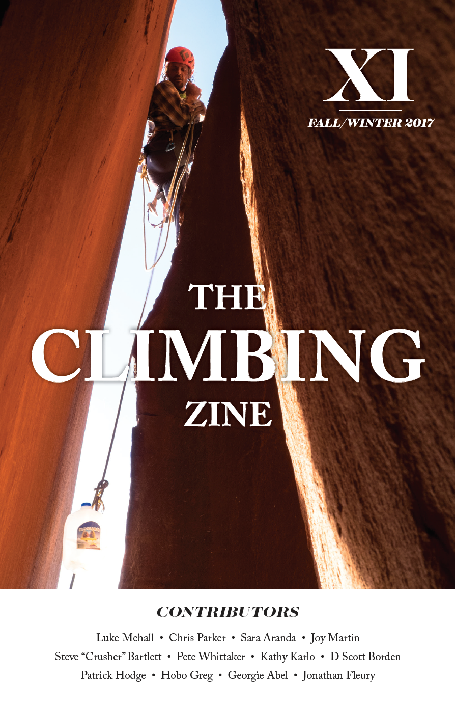 The Climbing Zine Volume 11 (only 1 left)