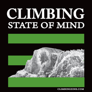 Climbing State of Mind Sticker